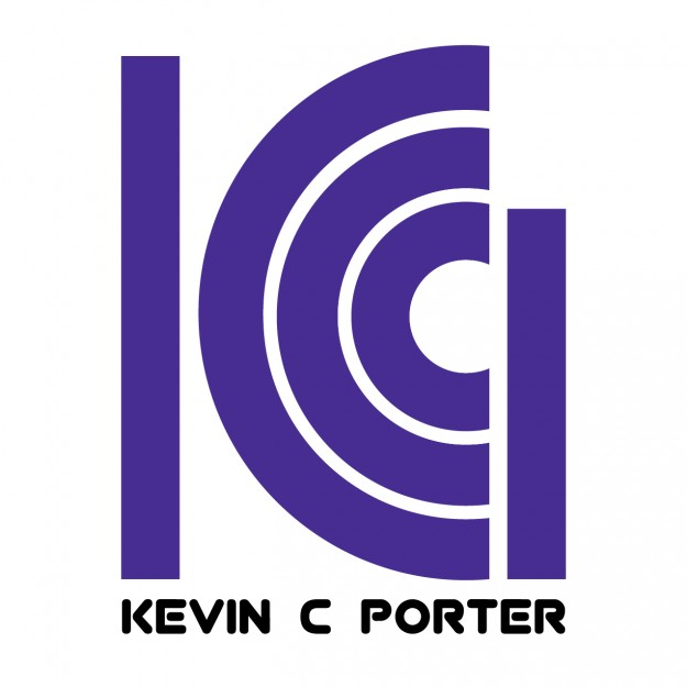 KCP logo design in purple