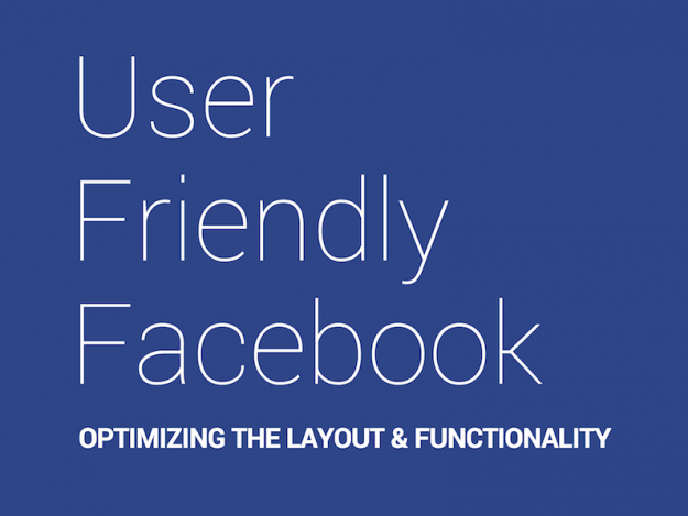 User Friendly Facebook